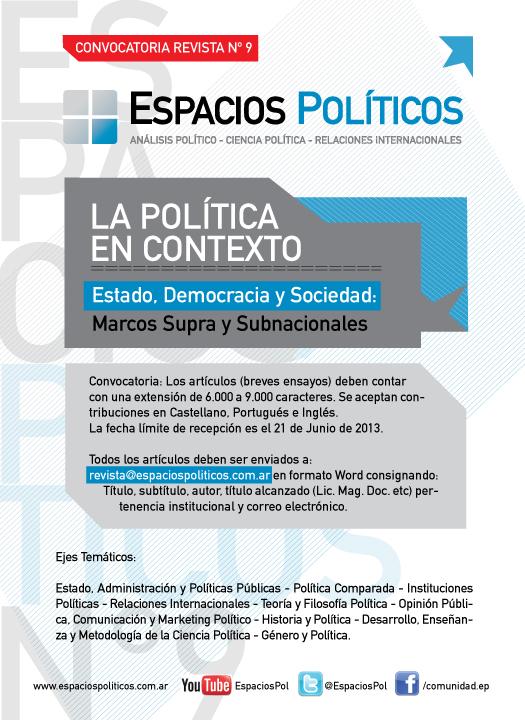 Flyer Revista 2013