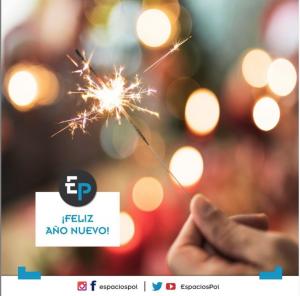Feliz Año nuevo Espacios Polítiicos